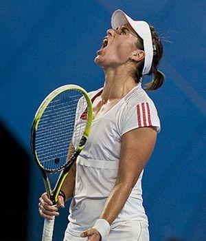 Anabel Medina se despide de Doha después de ser derrotada por Gavrilova