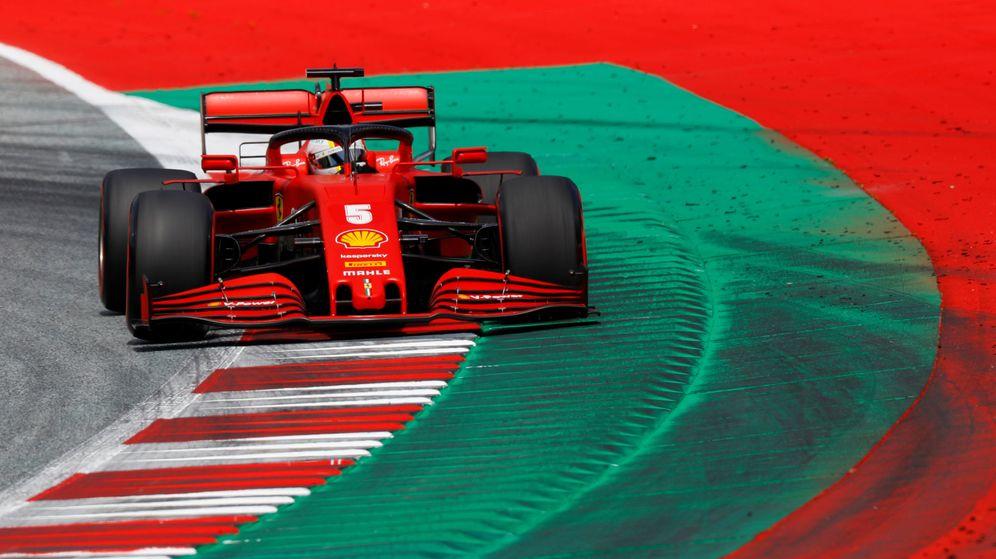 Foto: Sebastian Vettel durante la clasificación del GP de Austria. (Reuters)