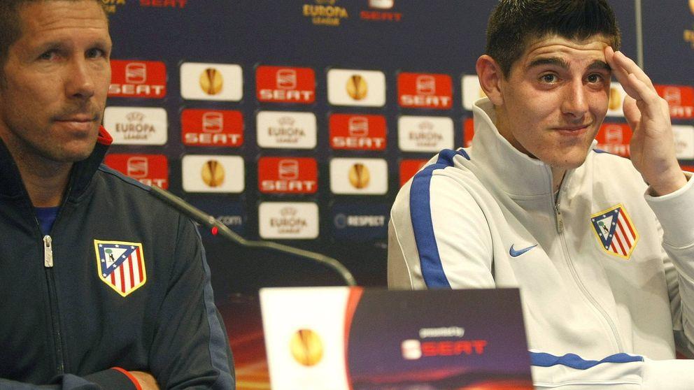 El Atlético echará el resto por fichar a Courtois, el 'elegido' de Simeone