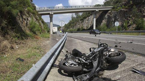 El riesgo de sufrir un accidente mortal es 12 veces mayor en moto que en coche