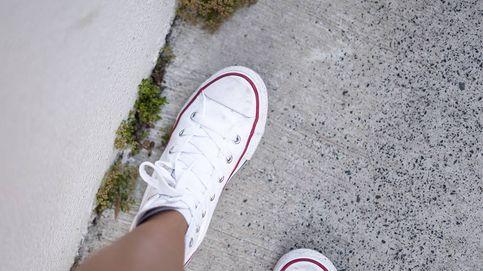 Converse con plataforma blancas: las zapatillas que querrás en tu armario