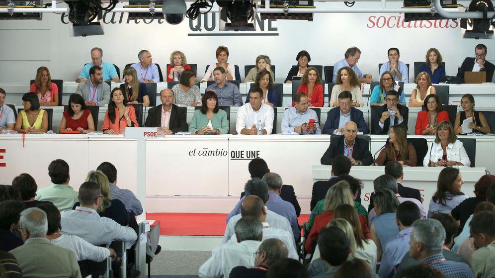 Foto: Reunión del Comité Federal del PSOE este 5 de septiembre, el primero del curso político. (EFE)
