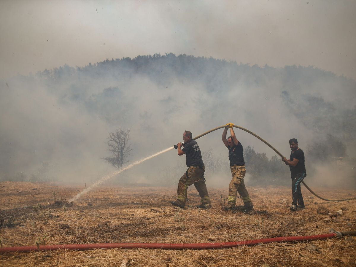 Foto: Wildfires in southern turkey