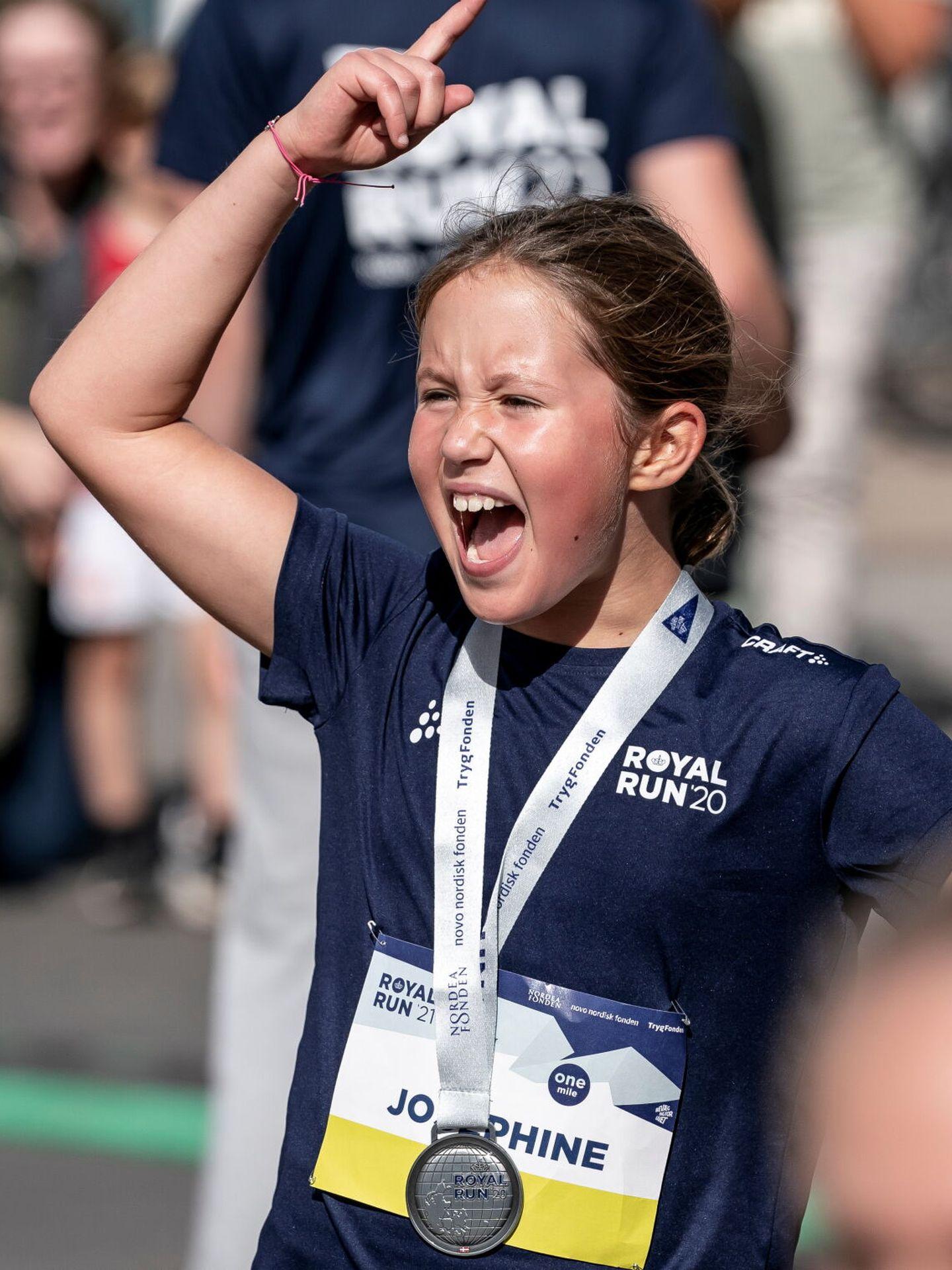 Josephine, dándolo todo también tras la Royal Run. (Reuters)