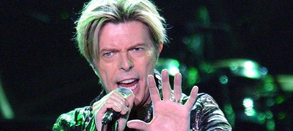 Foto: Bowie en un concierto en octubre de 2013.