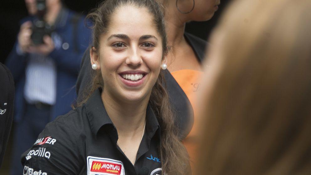 María Herrera no se siente rara entre los pilotos del Mundial