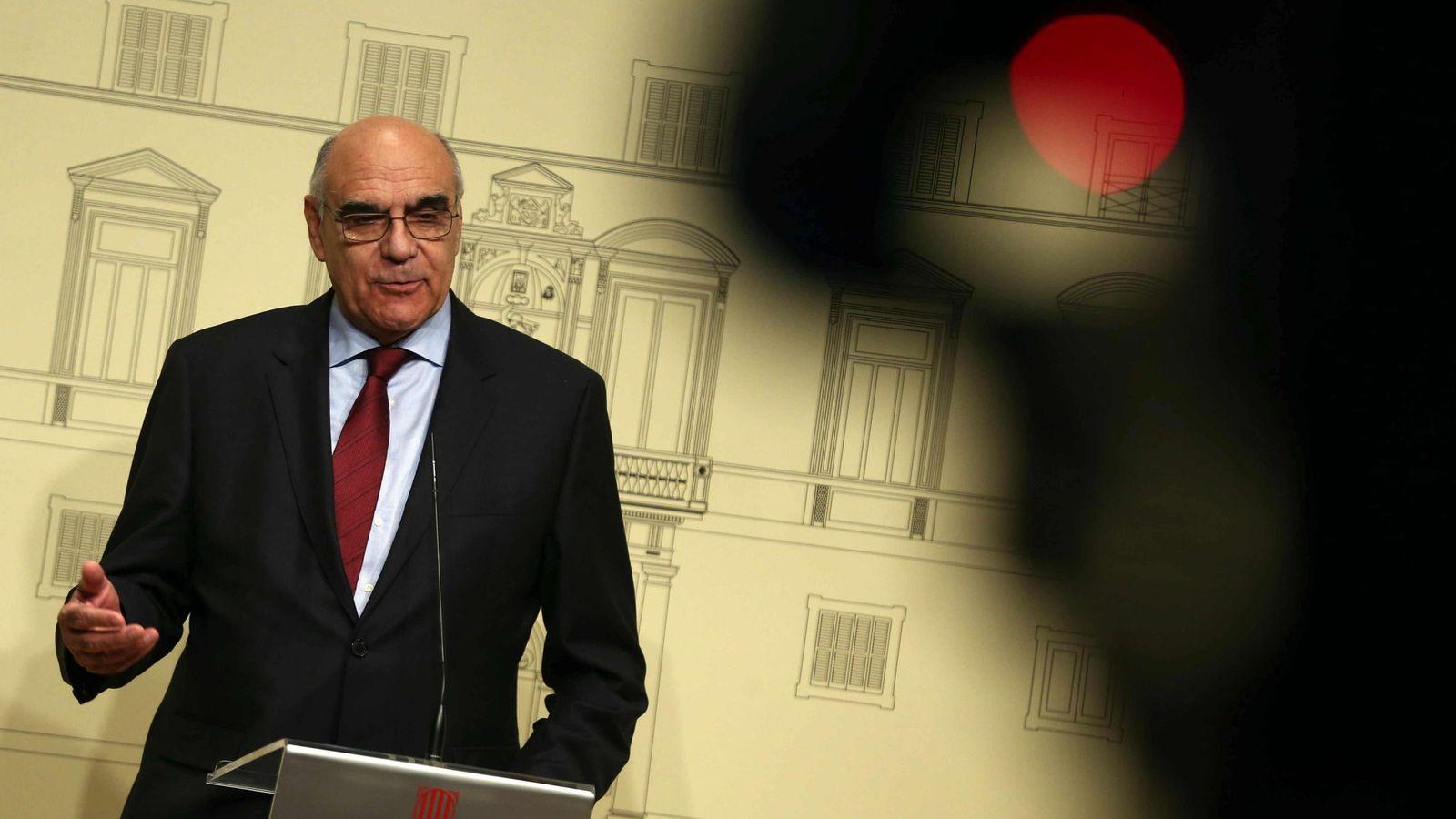 Foto: Salvador Alemany, tras ser elegido presidente del Patronato del Liceu.
