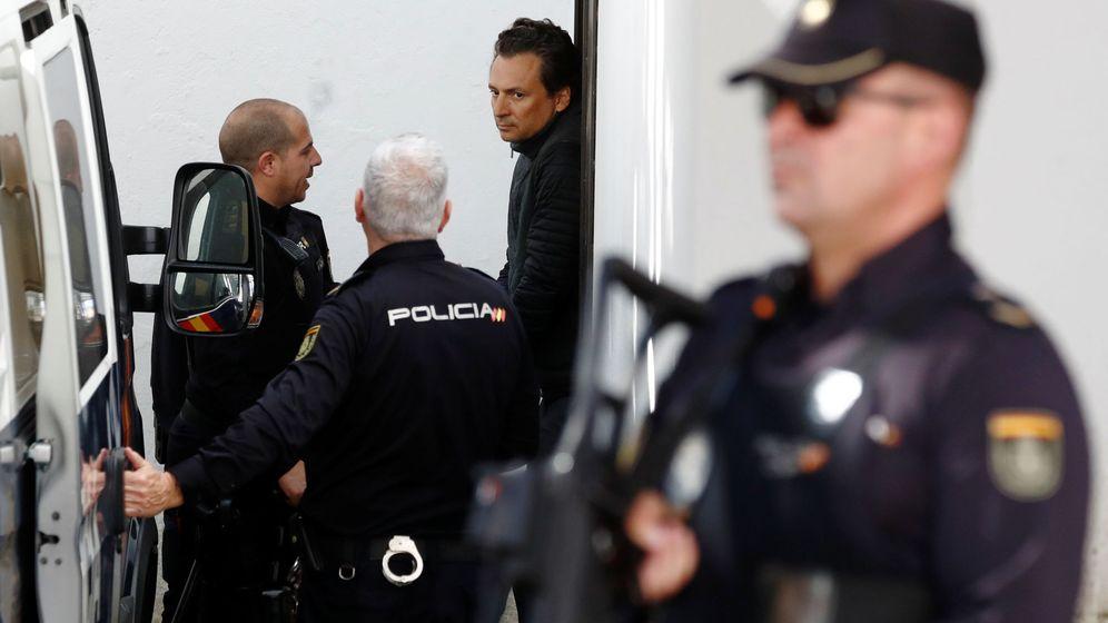 Foto: Emilio Lozoya, detenido en Málaga. (Reuters)
