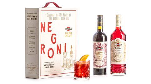 Martini celebra cien años del Negroni