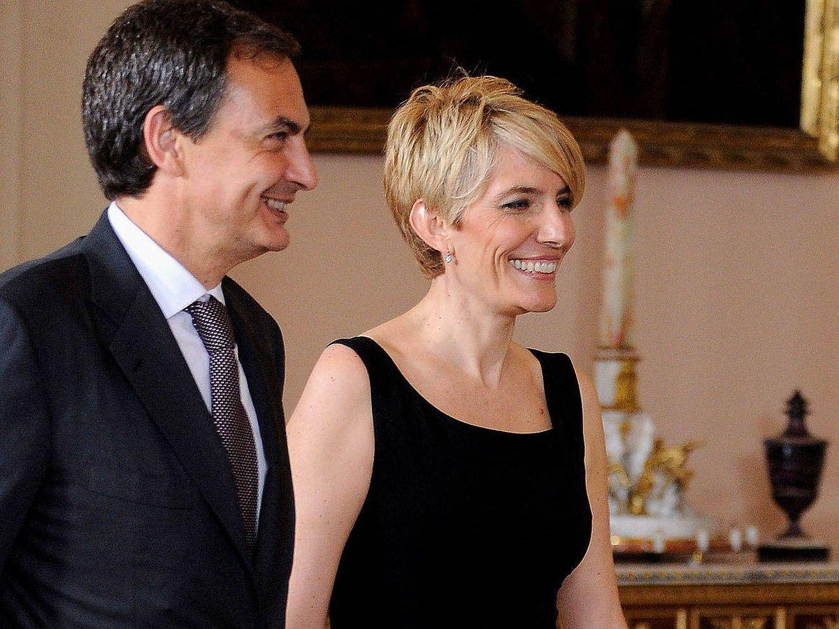 Foto: José Luis Rodríguez Zapatero y Sonsoles Espinosa, en una imagen de archivo. (Getty)