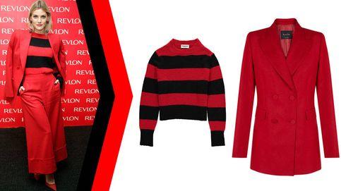 Copia el look del traje rojo (pasión) de Amaia Salamanca