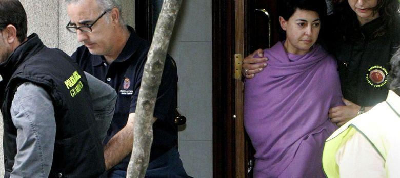 Foto: Rosario Porto y Alfonso Basterra, los padres de la niña hallada muerta en la madrugada del 22 de septiembre. (Efe)