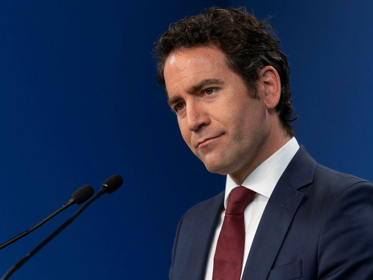 Foto:  El secretario general del Partido Popular (PP), Teodoro García Egea (i). (EFE)