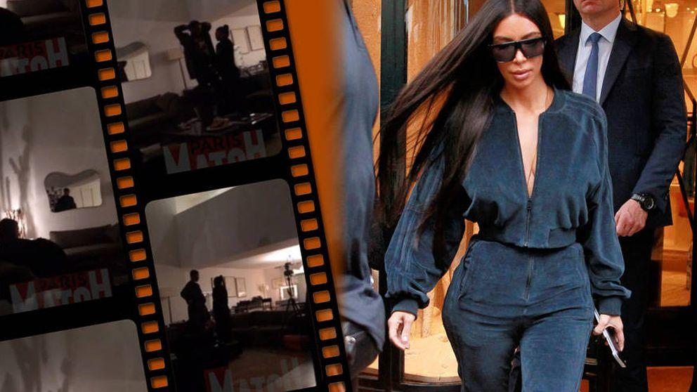 Las impactantes imágenes de Kim Kardashian tras el robo con agresión