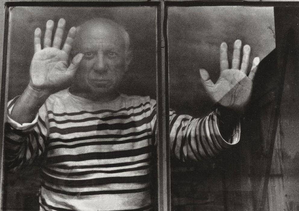 Foto: Pablo Picasso inmortalizado por Ruben Brenner.