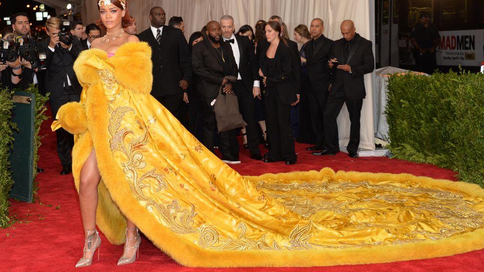 Instagram - Rihanna se ríe de la réplica de su vestido en el MET