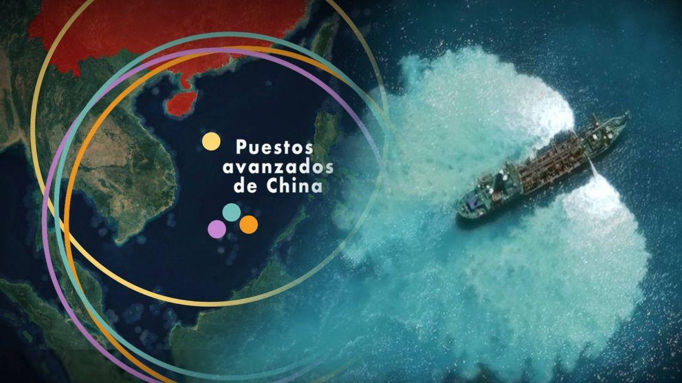 Islas artificiales y un mapa inventado: el plan de Pekín para controlar el Mar del Sur de China