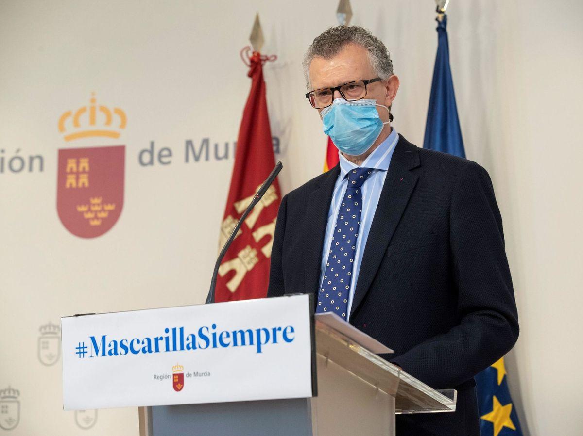 Foto: El consejero de Salud de Murcia, Juan José Pedreño. Foto: Efe