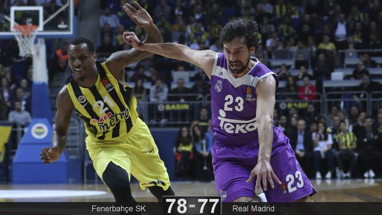 Foto: El Real Madrid volvió a caer ante el Fenerbahçe (Tolga Bozoglu/EFE)