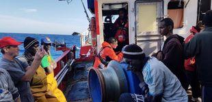 Post de Open Arms pide asilo a España para los 31 menores a bordo