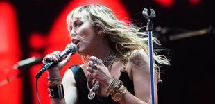 Post de Miley Cyrus, acosada por un fan en Barcelona