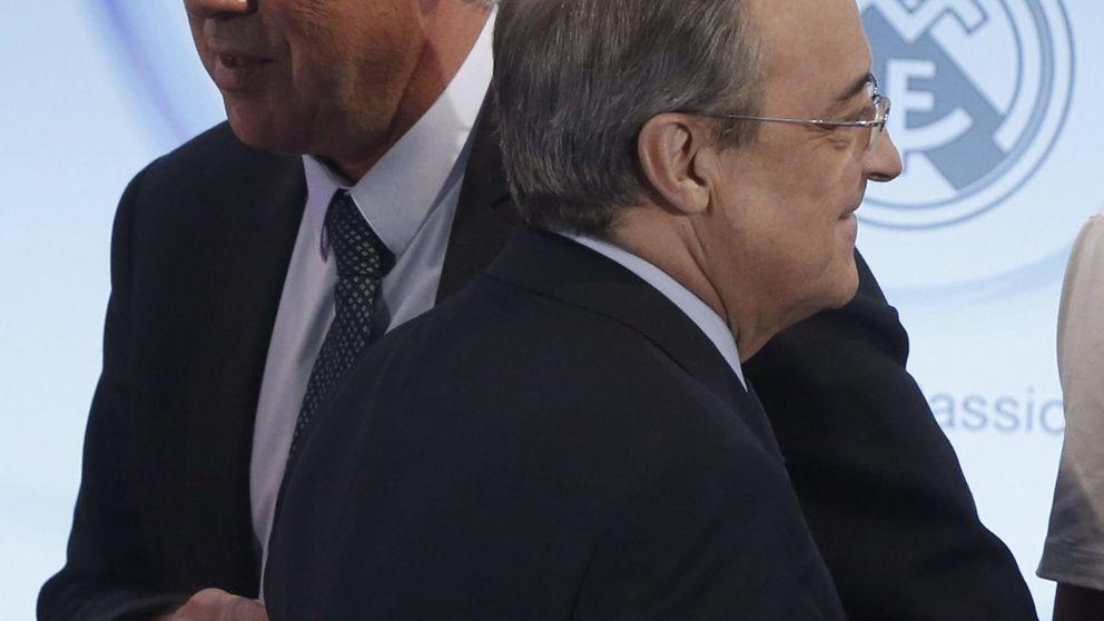 Ancelotti defenderá la dignidad del Madrid sin saber nada de Florentino