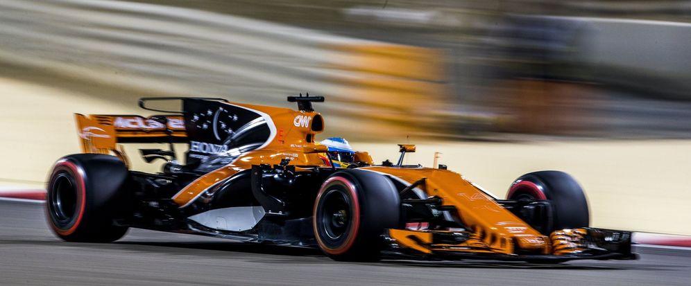 Foto: En la imagen, Fernando Alonso en su McLaren. (EFE)
