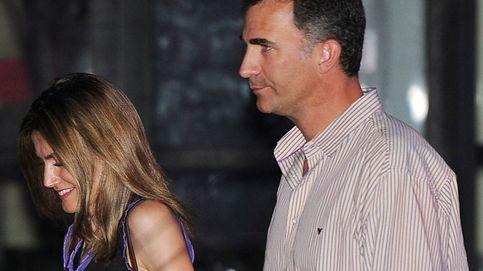 Felipe VI y Letizia, dos fans más en el concierto de Rod Stewart de Madrid