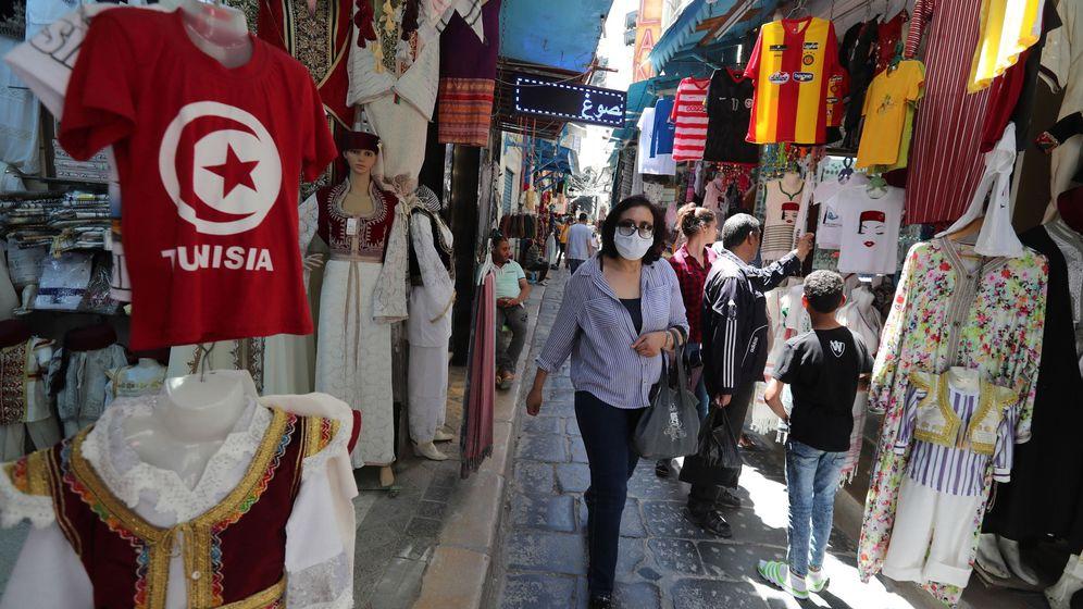 Foto: Un mercado de Túnez. (EFE)