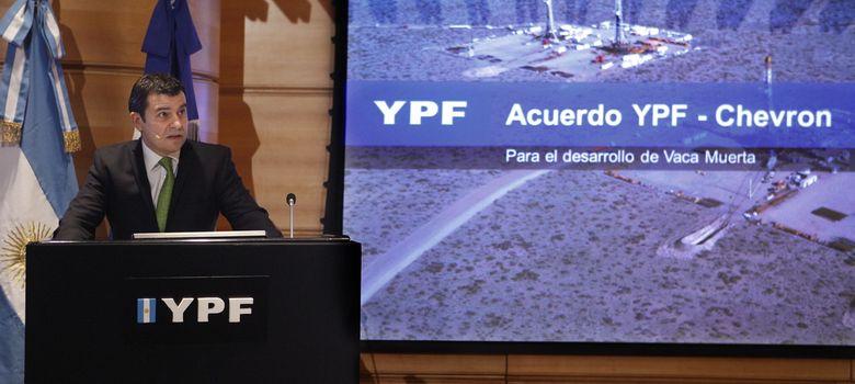 Foto: El presidente de la petrolera YPF, Miguel Galuccio. (EFE)