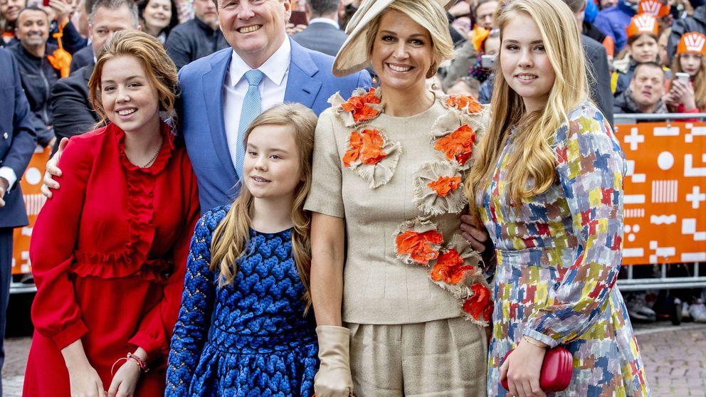 La princesa Amalia compite con Máxima en el Día del Rey: las dos con tacones de vértigo