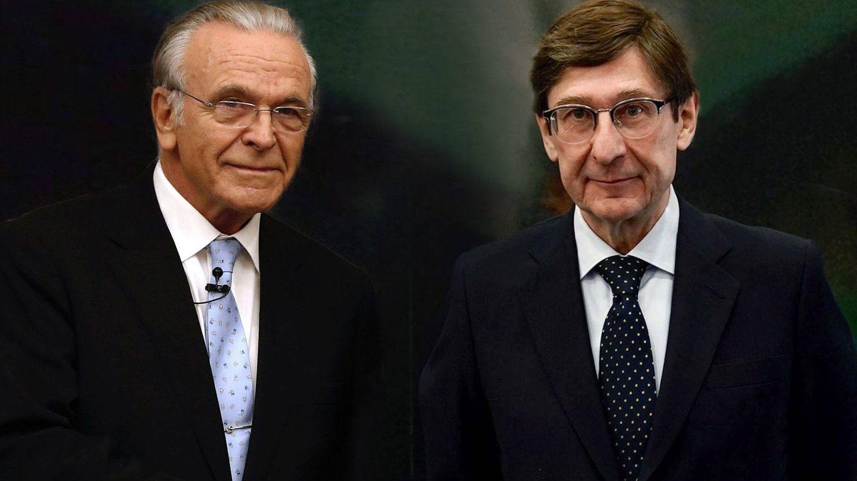Isidre Fainé y José Ignacio Goirigolzarri. (EFE)
