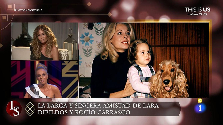La comparación de Rocío Carrasco con Lara Dibildos que ha irritado a todos en 'Lazos de sangre': Ella es madraza, tú mala madre