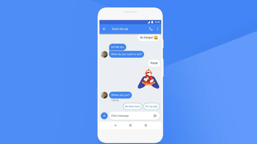 Foto: Imagen del nuevo 'anti-WhatsApp' de Google (foto: Google)