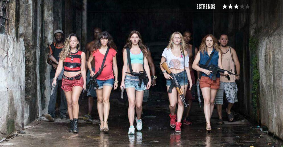 Foto: Las protagonistas de 'Bienvenidas a Brasil'. (Segarra Films)