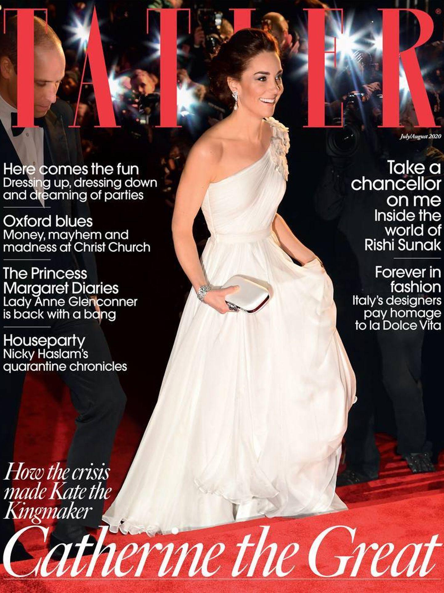 Portada de la edición de 'Tatler', con Kate Middleton como protagonista.