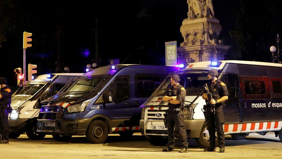 Los Mossos cierran el parque donde está el Parlament por motivos de seguridad