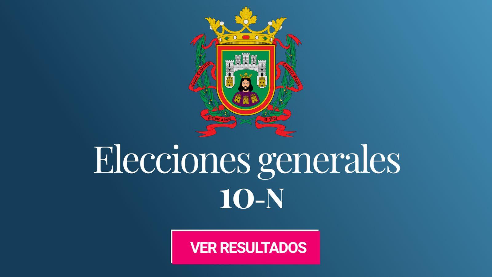 Foto: Elecciones generales 2019 en Burgos. (C.C./EC)