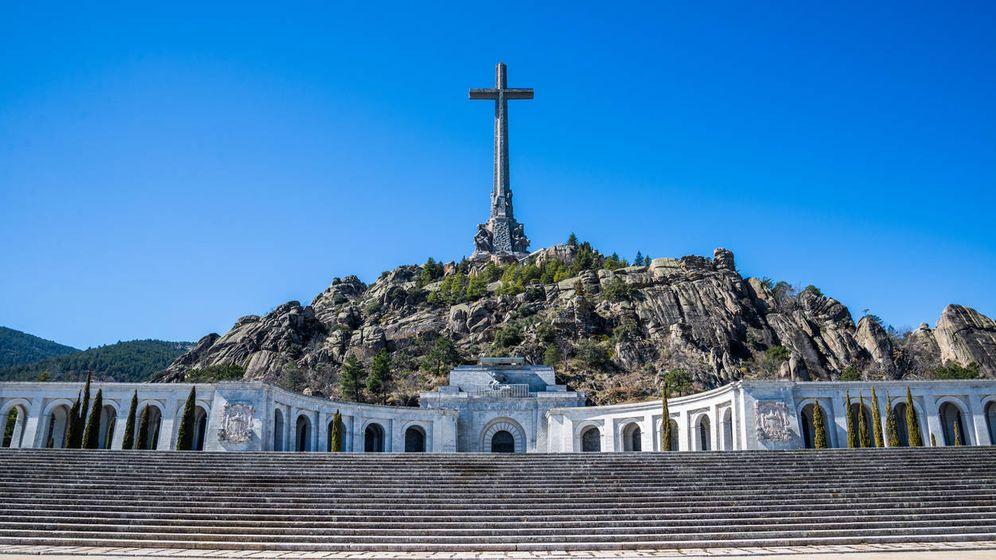 Foto: Imagen frontal del Valle de los Caídos. (iStock)