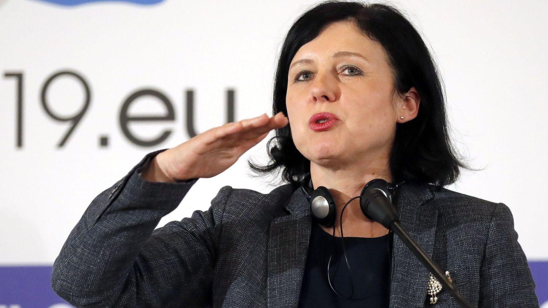 Vera Jourová, comisaria de Justicia (EFE)