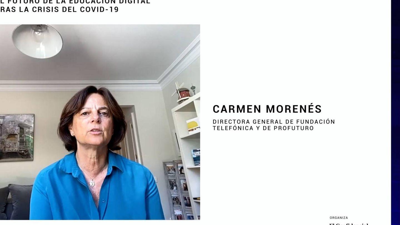 Carmen Morenés, directora general de Fundación Telefónica.