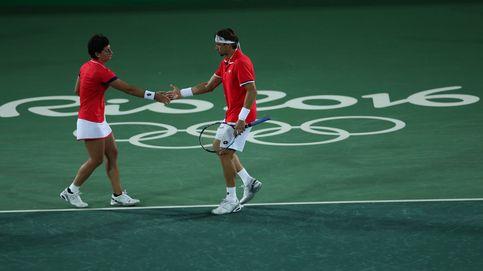 El dobles mixto español se queda sin representación en los Juegos