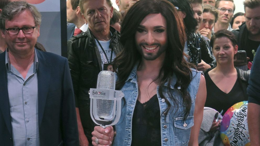 Conchita Wurst, el escaparatista que enamoró a Europa con su barba