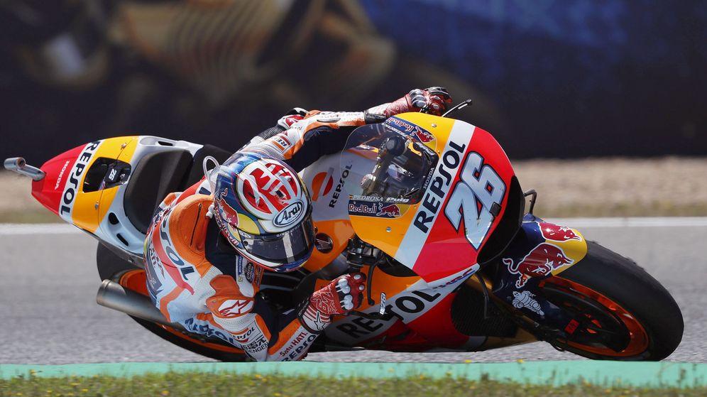 Foto: Dani Pedrosa durante este GP de España. (EFE)