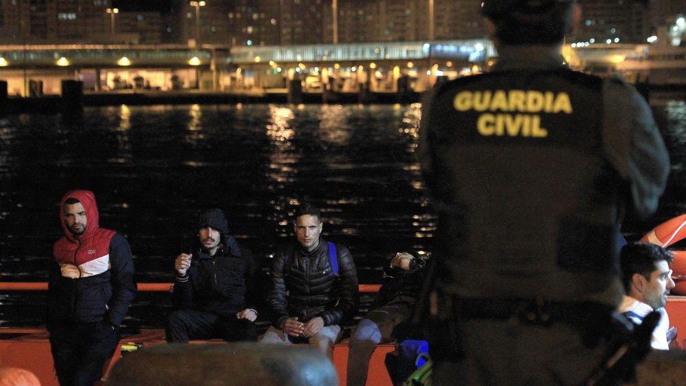 Foto: Foto de archivo de un rescate de Salvamento Marítimo. (EFE)