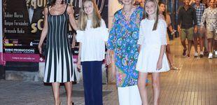 Post de Las reinas Letizia y Sofía marcan su estilo al acudir al ballet con Leonor y Sofía
