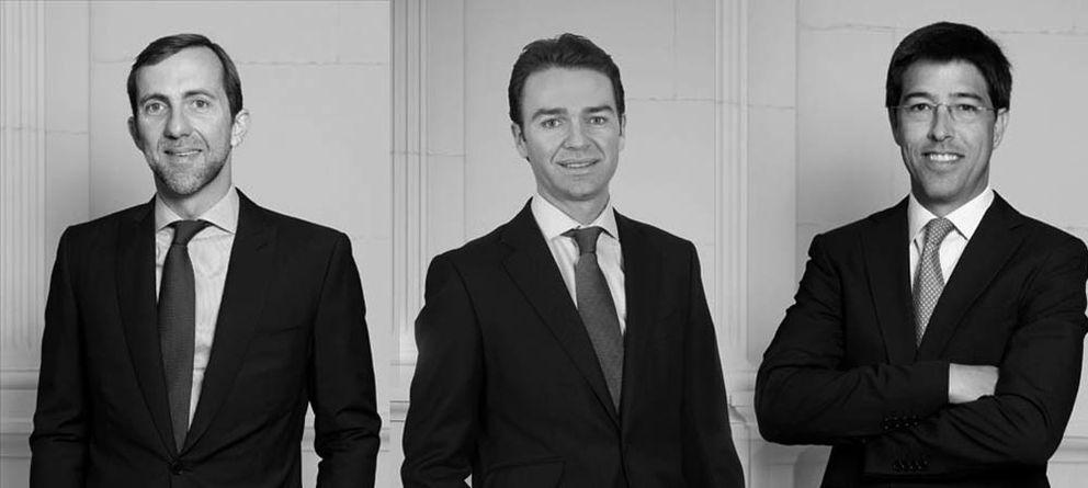 Foto: Luis Seguí, Jordi Alegre y Juan Leach. (Miura Private Equity)