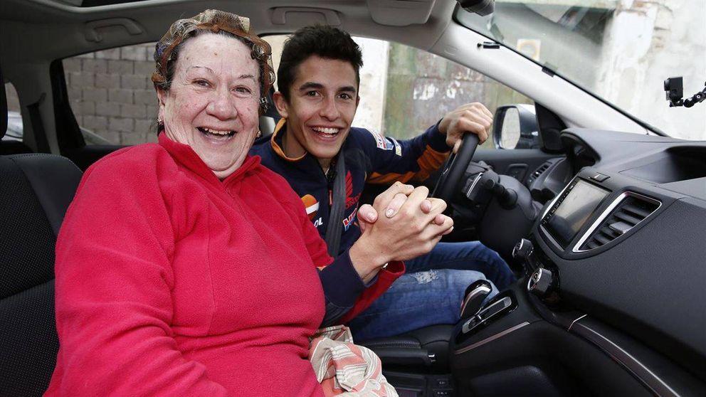 Marc Márquez la lía en un pueblo de Cádiz buscando nuevo copiloto