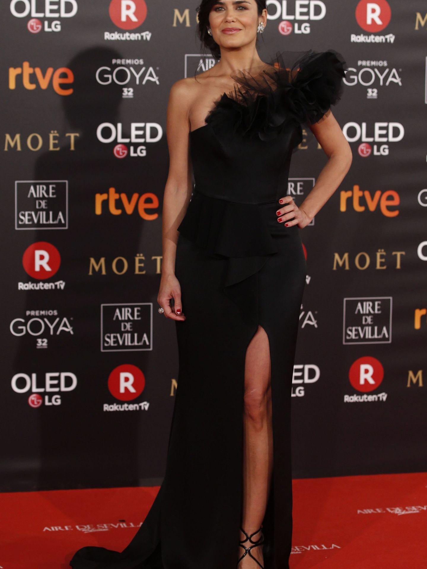 Elena Sánchez en los Premios Goya. (EFE)