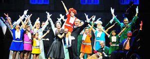 Annie cumple 100 funciones en Madrid